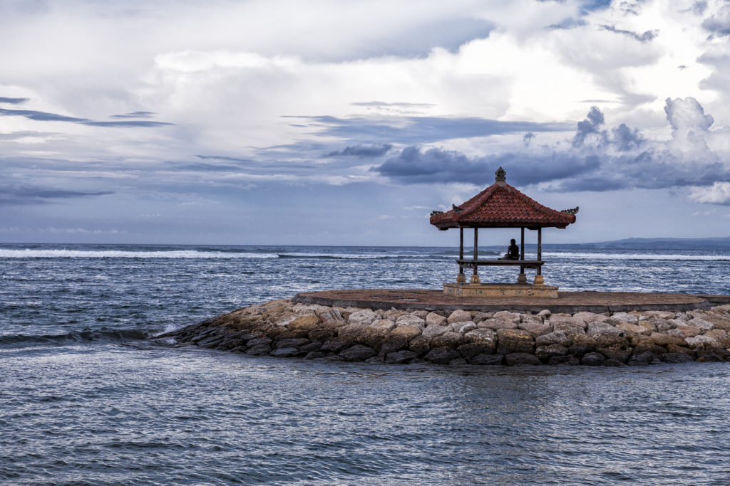 Fisherman in Sanur, Bali